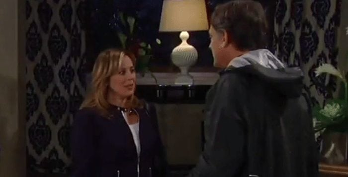 Laura and Kevin on General Hospital