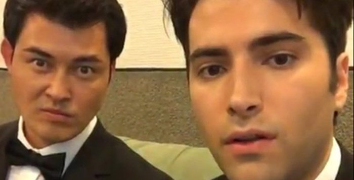 Days of Our Lives' Christopher Sean and Freddie Smith