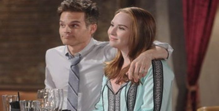 Greg Rikaart and Camryn Grimes on The Young and the Restless