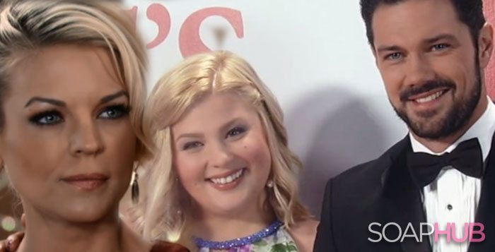 Maxie, Amy, and Nathan on General Hospital