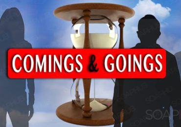Days of our Lives Coming and Goings February 16