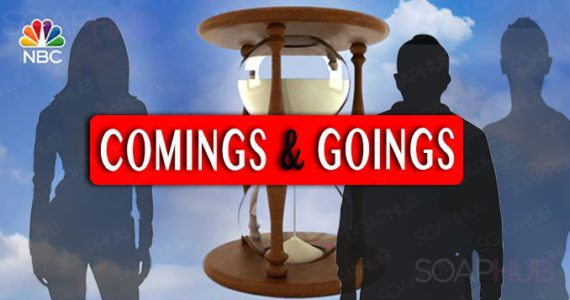 Days of our Lives Coming and Goings April 16