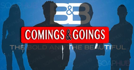 The Bold and the Beautiful Comings and Goings