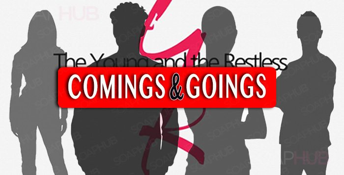 The Young and the Restless Comings and Goings
