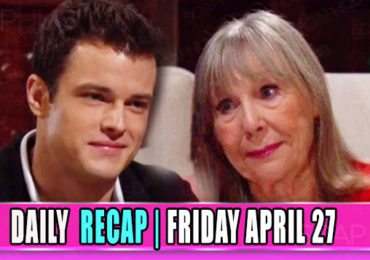 The Young and the Restless Recap Friday April 27