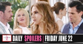 The Young and the Restless Spoilers Friday June 22