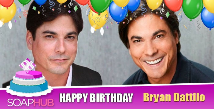Happy Birthday Bryan Dattilo