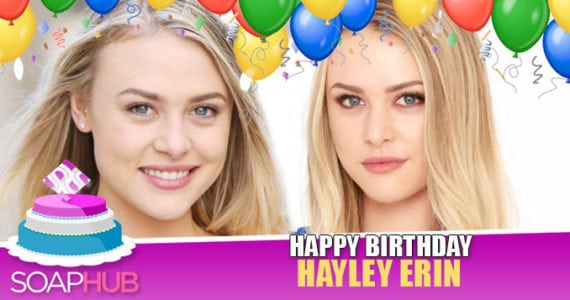 Hayley Erin Birthday