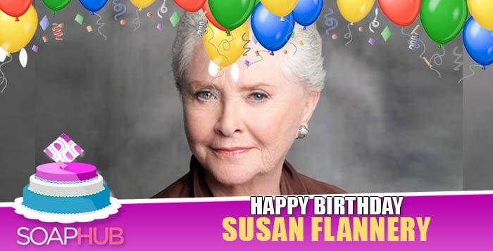 Susan Flannery Birthday