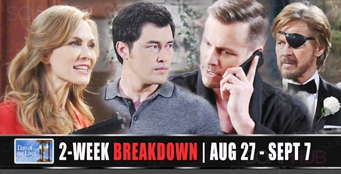Days of our Lives spoilers august 27 -sept 7