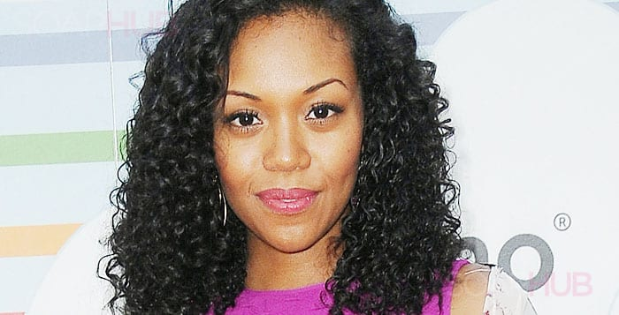 The Young and the Restless Mishael Morgan back on the set