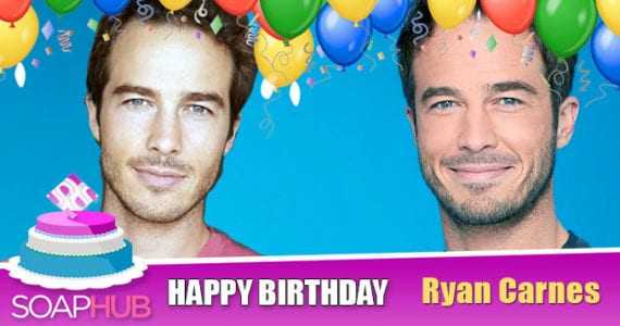 Happy Birthday Ryan Carnes