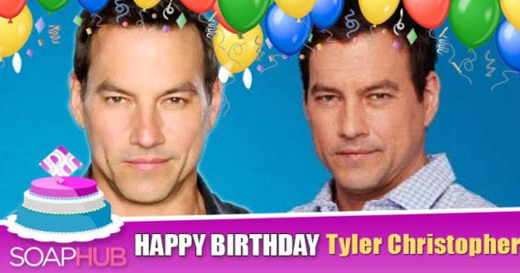Happy Birthday Tyler Christopher