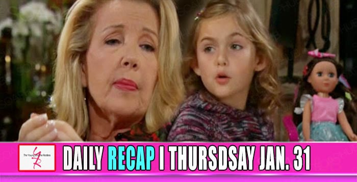 The Young and the Restless Recap January 31