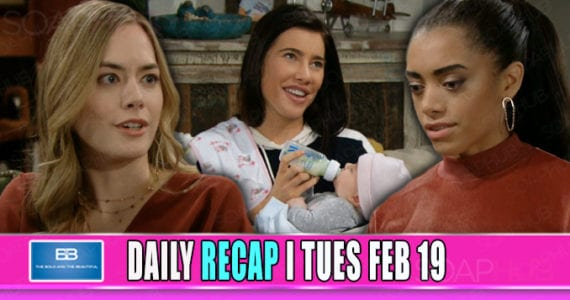 The Bold and the Beautiful Recap February 19
