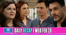 The Bold and the Beautiful Recap February 20