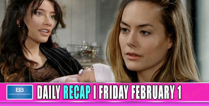 The Bold and the Beautiful Recap February 1