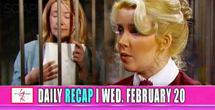 The Young and the Restless Recap February 20