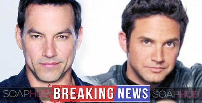 Tyler Christopher and Brandon Barash Days of Our Lives