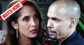 The Young and the Restless Lily and Devon April 25, 2019