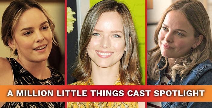 A Million Little Things Star Allison Miller May 22, 2019