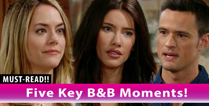 The Bold and the Beautiful Key Moments