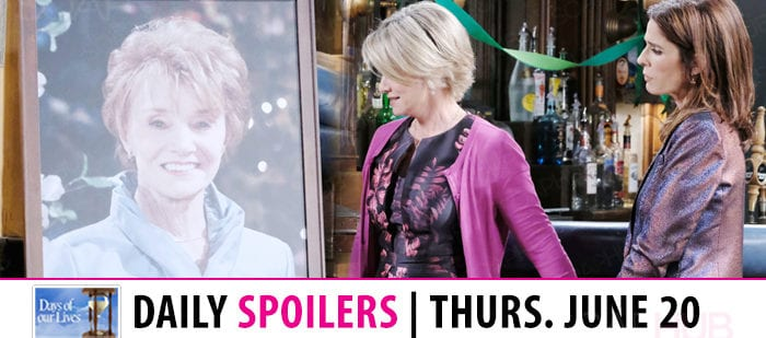 Days of Our Lives Spoilers Thursday