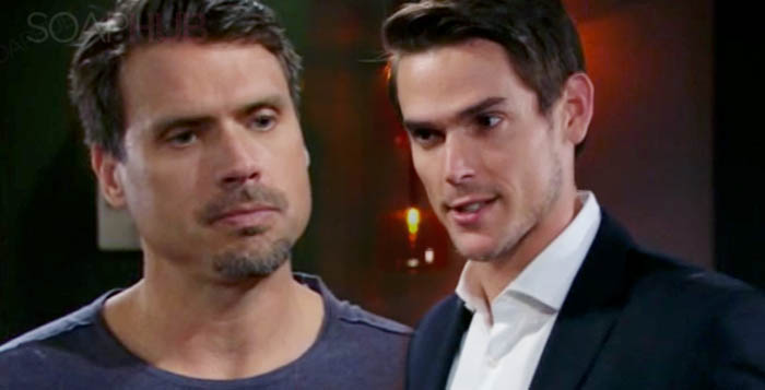 Nick and Adam The Young and the Restless