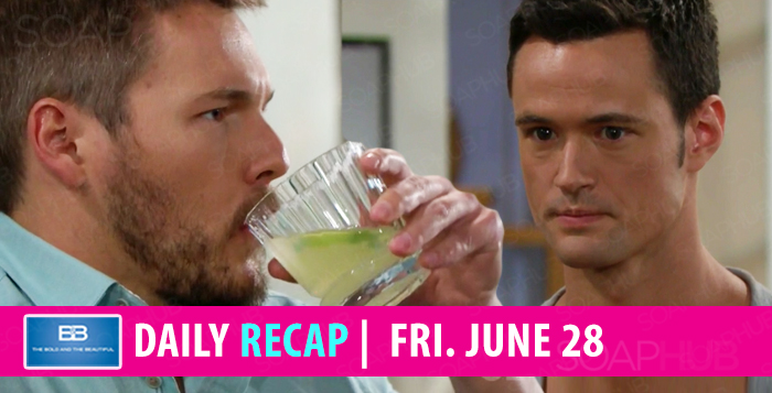 The Bold and the Beautiful Recap Friday