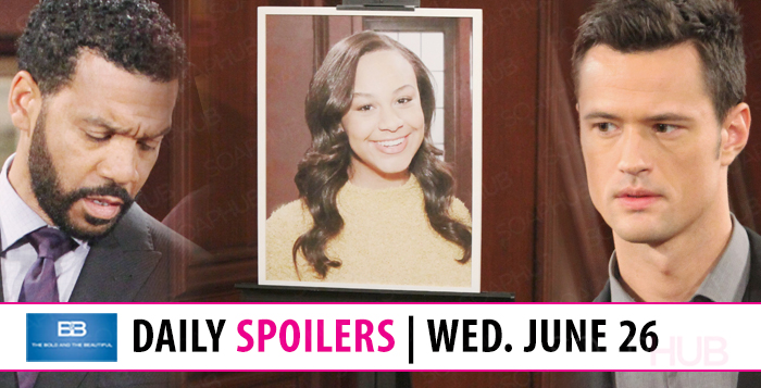 The Bold and the Beautiful Spoilers Tuesday