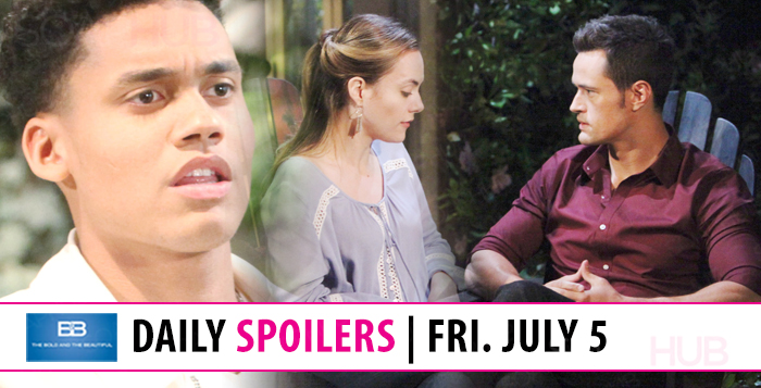 The Bold and the Beautiful Spoilers Friday
