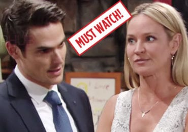 The Young and the Restless Adam and Sharon August 5, 2019