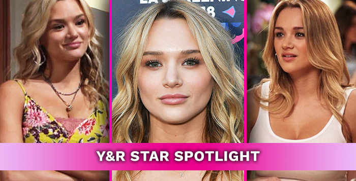The Young and the Restless Star Hunter King August 12, 2019