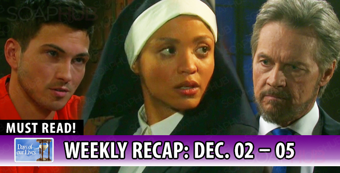 Days of Our Lives Recap