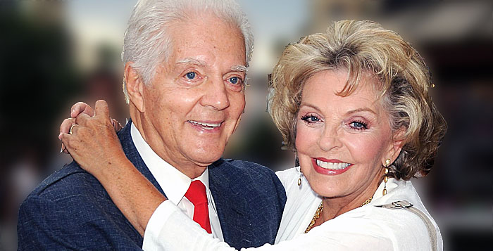 Soap Opera lovebirds Bill Hayes and Susan Seaforth Hayes