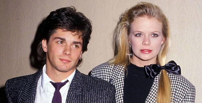 Billy Warlock and Marcy Walker