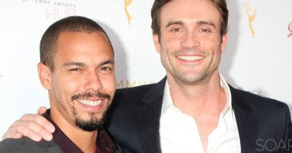 Bryton James and Daniel Goddard The Young and the Restless
