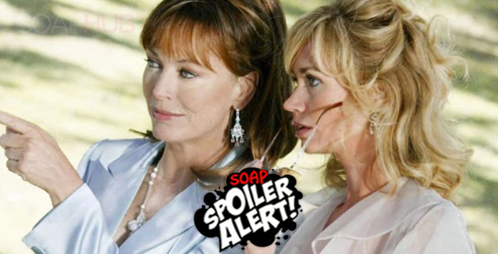 Lesley Ann Down and Ashley Jones The Bold and the Beautiful