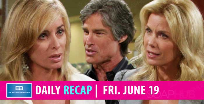 The Bold and the Beautiful Recap June 19 2020
