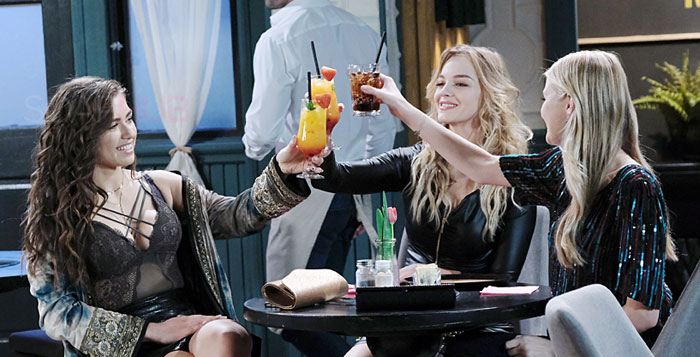 Days of our Lives Ciara, Allie, Claire