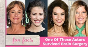 Which Soap Star Underwent Speciality Surgery To Remove A Brain Tumor