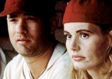 A League of Their Own Tom Hanks and Geena Davis