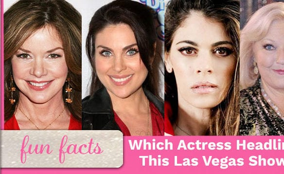 Which Soap Star Was Lead Vocals In Viva Las Vegas At The Sands Hotel