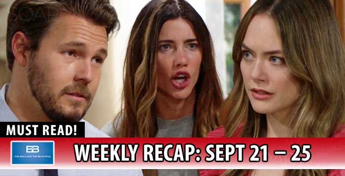 The Bold and the Beautiful Recap September 25 2020