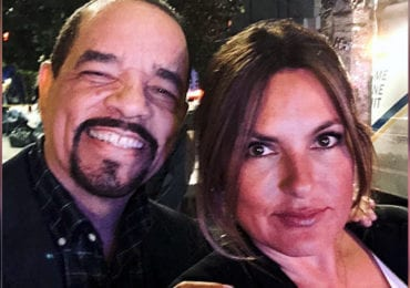 Law and Order SVU Ice-T and Mariska Hargitay