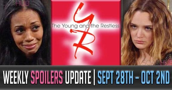 The Young and the Restless Spoilers Weekly Update: A Roaming Heart