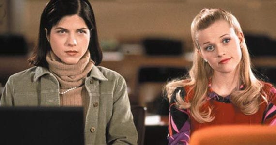 Legally Blonde Selma Blair and Reese Witherspoon