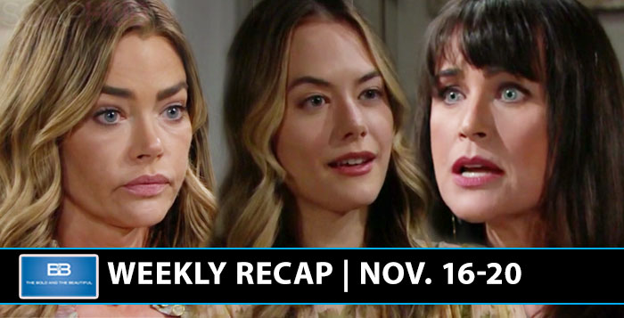 The Bold and the Beautiful Recap November 16 2020