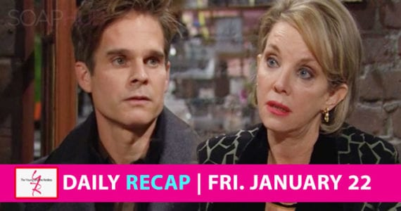 The Young and the Restless Recap January 22 2021