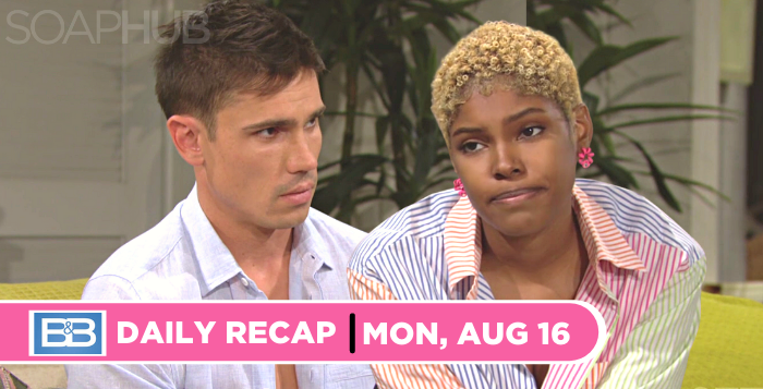 The Bold and the Beautiful recap for Monday, August 16, 2021
